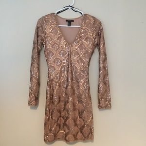 Forever 21 limited edition sequin dress size S